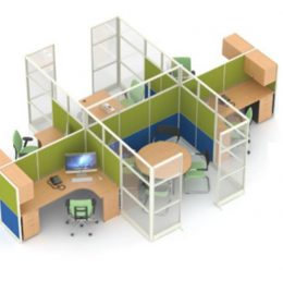 Jual Ruangan Partisi Kantor Uno Premium Konfigurasi 27 A Murah Di Surabaya