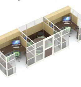 Jual Ruangan Partisi Kantor Uno Premium Konfigurasi 27 B Murah Di Surabaya
