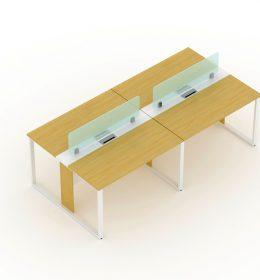 Meja Kantor Surabaya Merk Uno, Furniture dengan Desain Kuat dan Kokoh